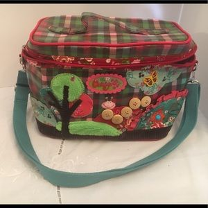 Oilily Embroidered Bag With Shoulder Strap